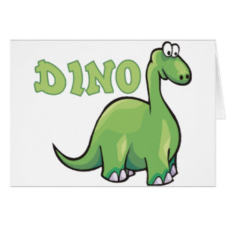Dino The Dinosaur Card
