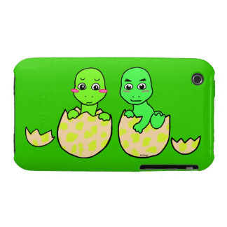 Dino Twins iPhone 3 Case-Mate Cases