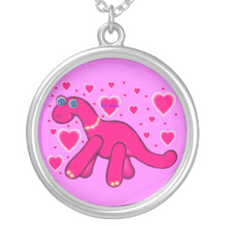 Dino Valentine Custom Necklace