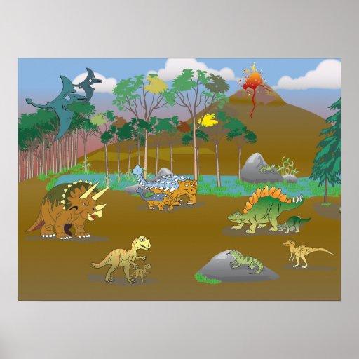 Dino world! poster
