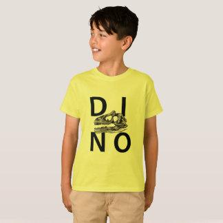 DINO - Yellow Kids' Hanes TAGLESS® T-Shirt