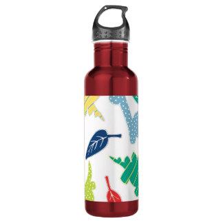 Dinomite! Cute Colorful Dinosaur Pattern 710 Ml Water Bottle