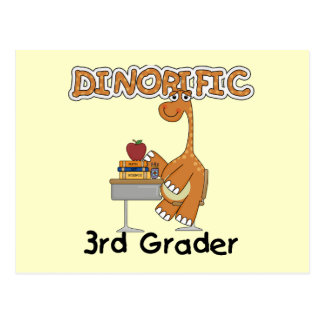 Dinorific 3rd Grader T-shirts and Gifts Postcard
