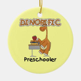 Dinorific Preschooler T-shirts and Gifts Christmas Ornament