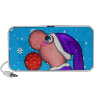Dino's Holiday Portable Speaker