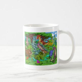 dinos_playing mug