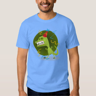 Dino's Rock - Dinosaur Birthday Party T Shirts