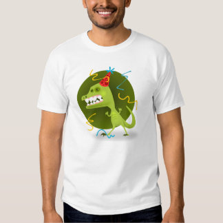 Dino's Rock - Dinosaur Birthday Party Tee Shirt