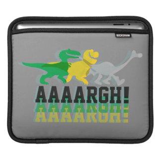 Dinos Say AAAARGH iPad Sleeve