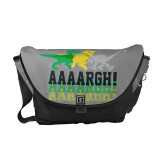 Dinos Say AAAARGH Messenger Bags