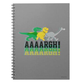 Dinos Say AAAARGH Notebook
