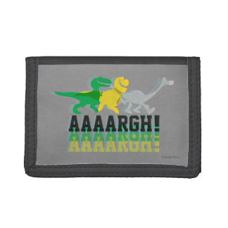 Dinos Say AAAARGH Tri-fold Wallet