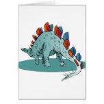 Dinosaur 3 greeting card