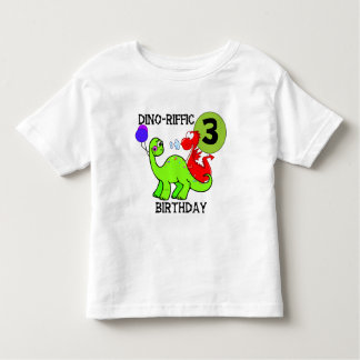 Dinosaur 3rd Birthday Tshirts and Gifts