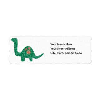 Dinosaur Address Labels