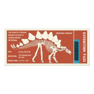 Dinosaur Adventure Pass Card