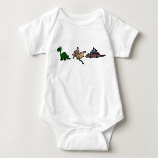 Dinosaur babies baby bodysuit