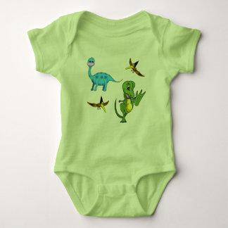 Dinosaur Baby Jersey Bodysuit