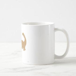 Dinosaur Basic White Mug