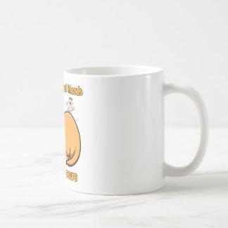 Dinosaur Best Friends Basic White Mug