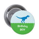 Dinosaur Birthday Button