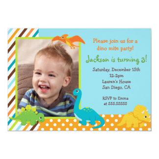 Dinosaur 1st Birthday Cards Invitations Zazzlecouk