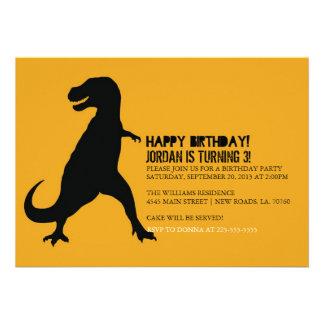 Dinosaur Birthday Party | T-Rex Invites