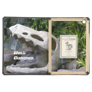 Dinosaur Black Dodo iPad Air. iPad Air Cover