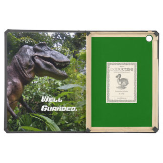 Dinosaur Black & Green Dodo iPad Air. iPad Air Cases