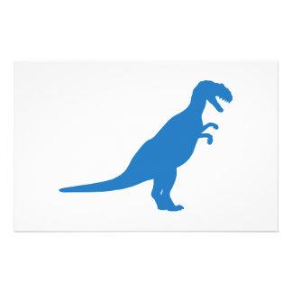 Dinosaur Blue Flyer Design