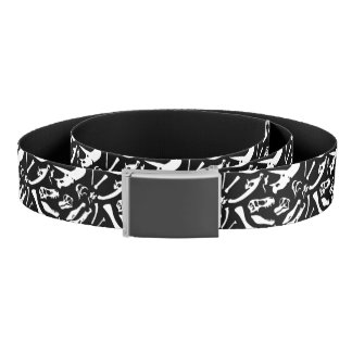 Dinosaur Bones (Black) Belt