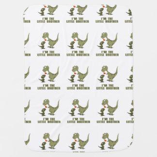 Dinosaur Brothers Baby Blanket