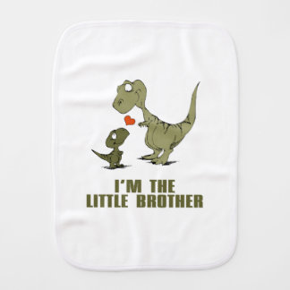 Dinosaur Brothers Burp Cloths