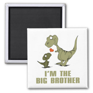 Dinosaur Brothers Magnet