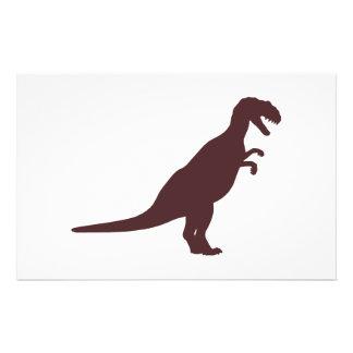 Dinosaur Brown Flyer Design