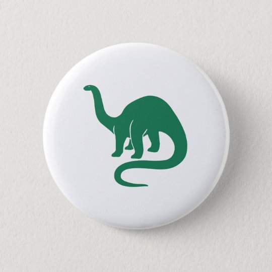Dinosaur Button Green