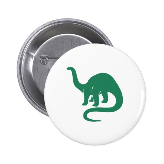 Dinosaur Button Green
