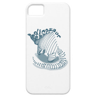 dinosaur cartoon style illustration barely there iPhone 5 case