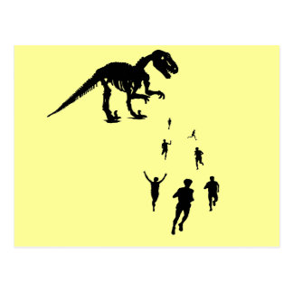 Dinosaur Chasey - Tag You re IT Post Cards