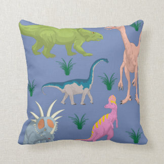 Dinosaur colorful cute animal baby kids room cushion