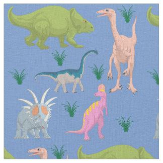 Dinosaur colorful kids baby children nursery fabric