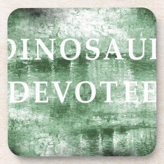 Dinosaur Devotee by Kaye Talvilahti Coaster