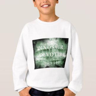 Dinosaur Devotee by Kaye Talvilahti Sweatshirt