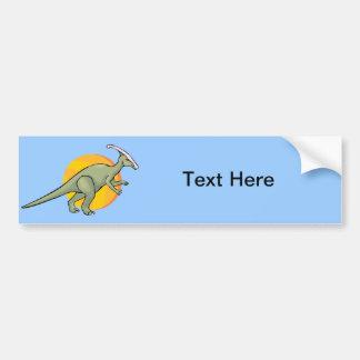 Dinosaur Dinosaurs Jurassic Reptilia Art Animal Car Bumper Sticker