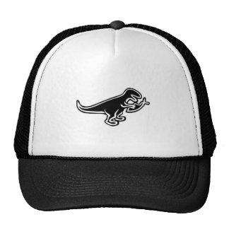 Dinosaur Eating Jesus Fish Cap