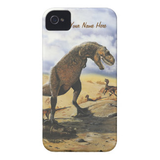 Dinosaur Family iPhone-Barely There iPhone 4 Cases