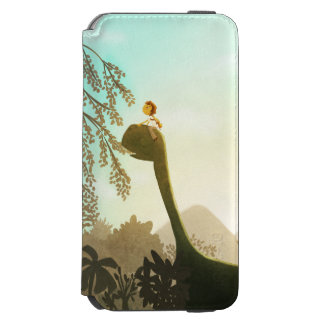 "Dinosaur Fantasy Nursery Art ""Morning Snack"" Incipio Watson™ iPhone 6 Wallet Case"