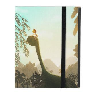 "Dinosaur Fantasy Nursery Art ""Morning Snack"" iPad Covers"