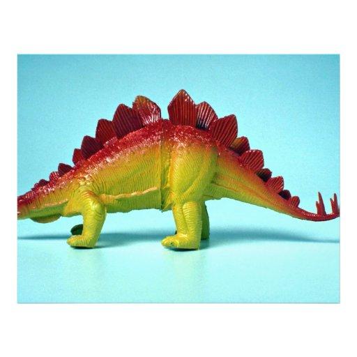 Dinosaur Full Color Flyer