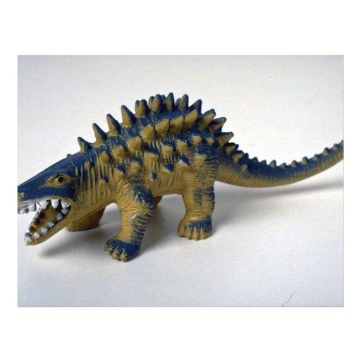 Dinosaur Flyer Design